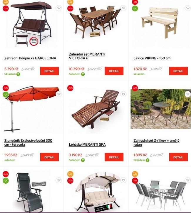 Atan nábytek zahradní nábytek