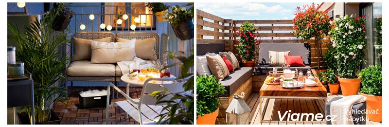 Inspirace na balkon a terasu