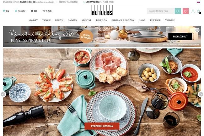 Butlers eshop