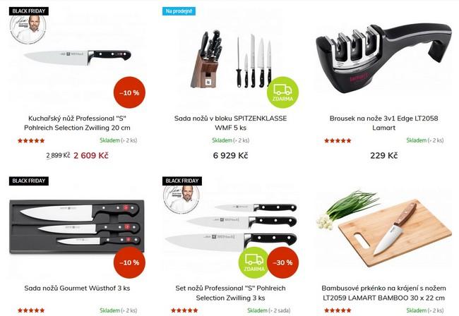 Chefshop nože