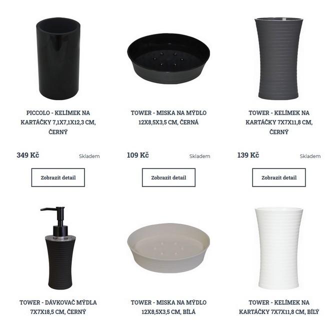 Grund koupelnové doplňky