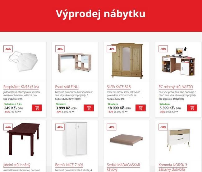 Idea nábytek výprodej