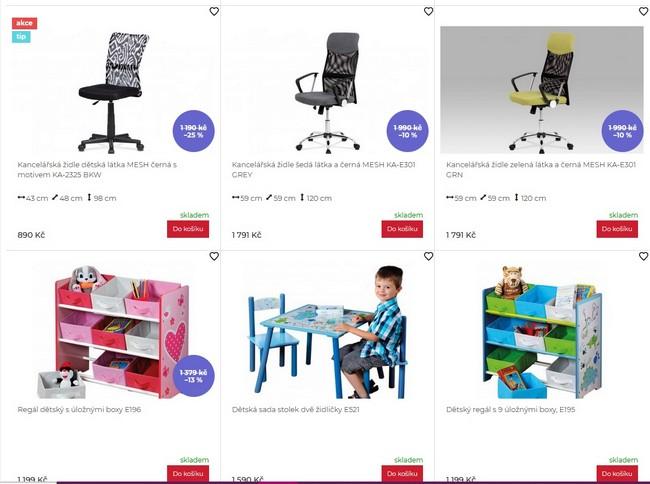 Nakup Nábytek dětský nábytek