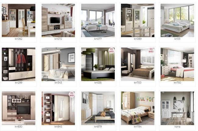 Nakup Nábytek sektorový nábytek