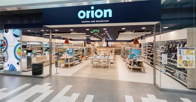 Orion prodejny