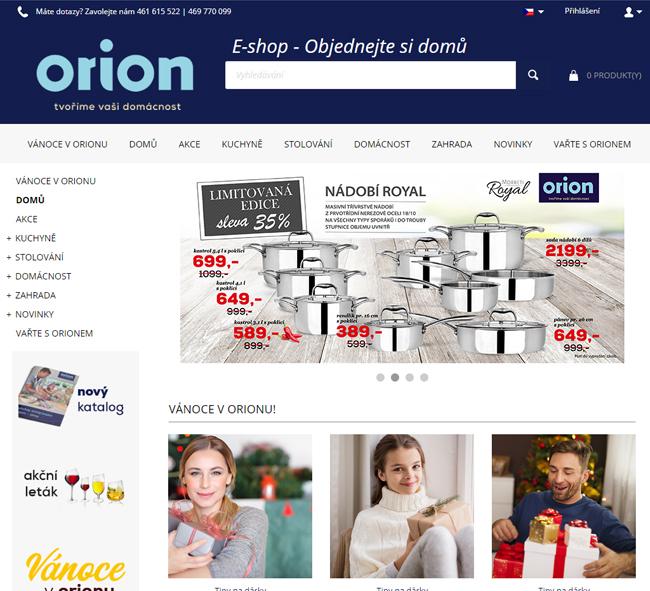 Orion eshop