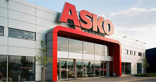 Prodejna Asko nábytek
