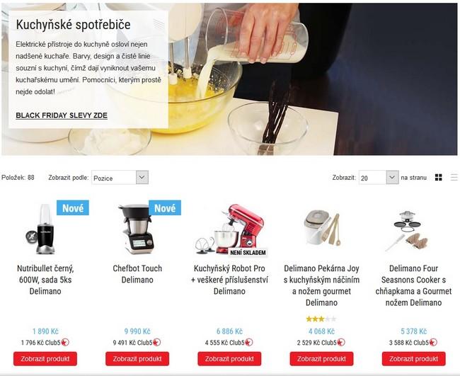 TopShop kuchyňské spotřebiče