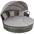 Zahradní lehátka a postele