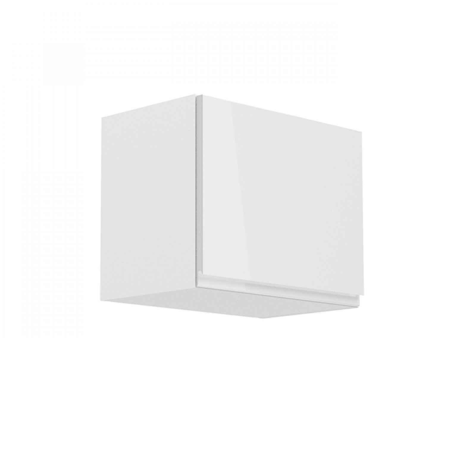 Horní skříňka AURORA G50K Tempo Kondela Bílá