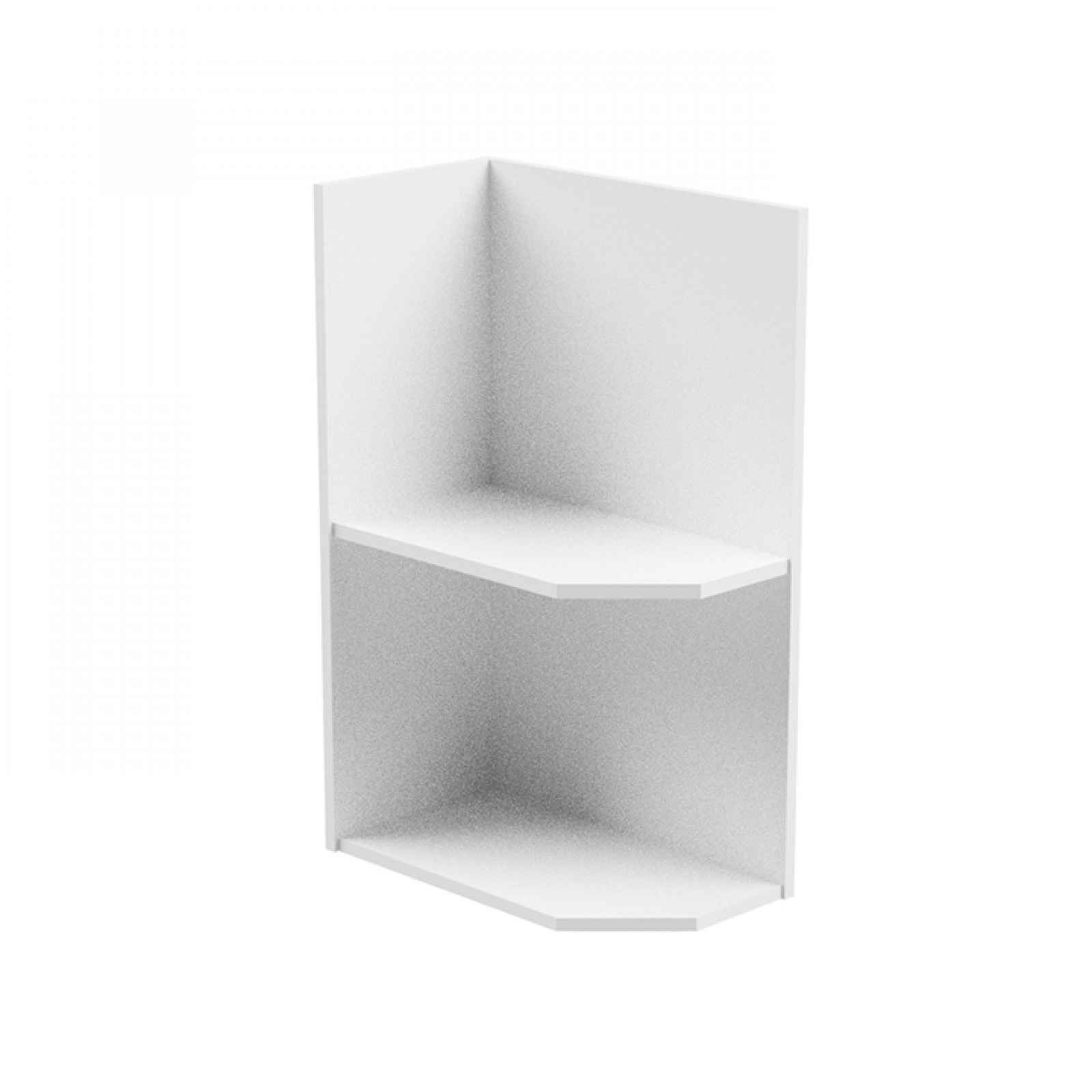 Spodní skříňka, bílá, levá, AURORA D25PZ 0000236726 Tempo Kondela