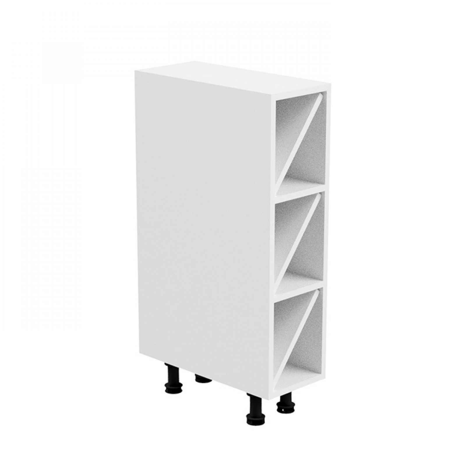 Spodní skříňka, bílá, AURORA D20W 0000236727 Tempo Kondela
