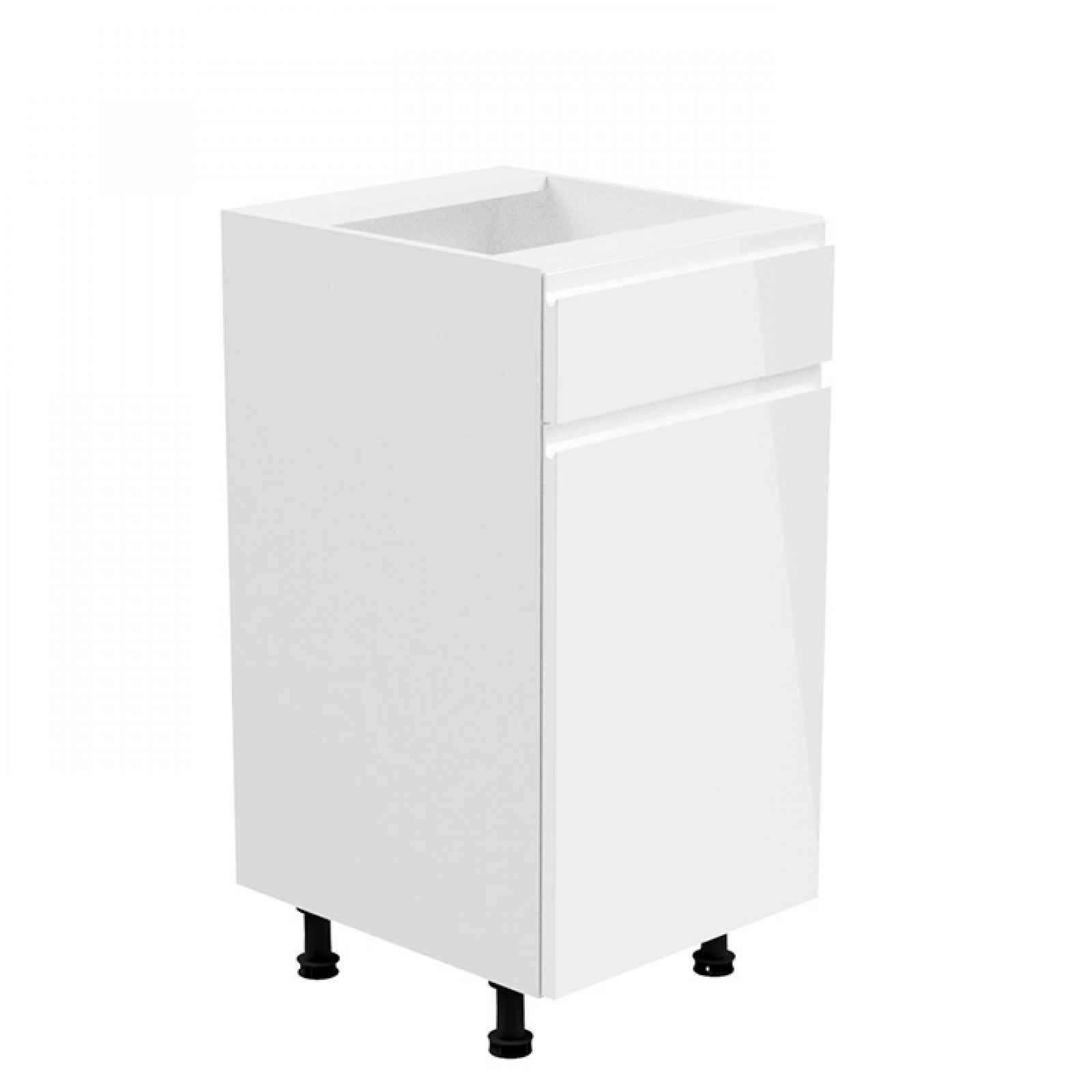 Spodní skříňka AURORA D40S1 - pravá Tempo Kondela Bílá