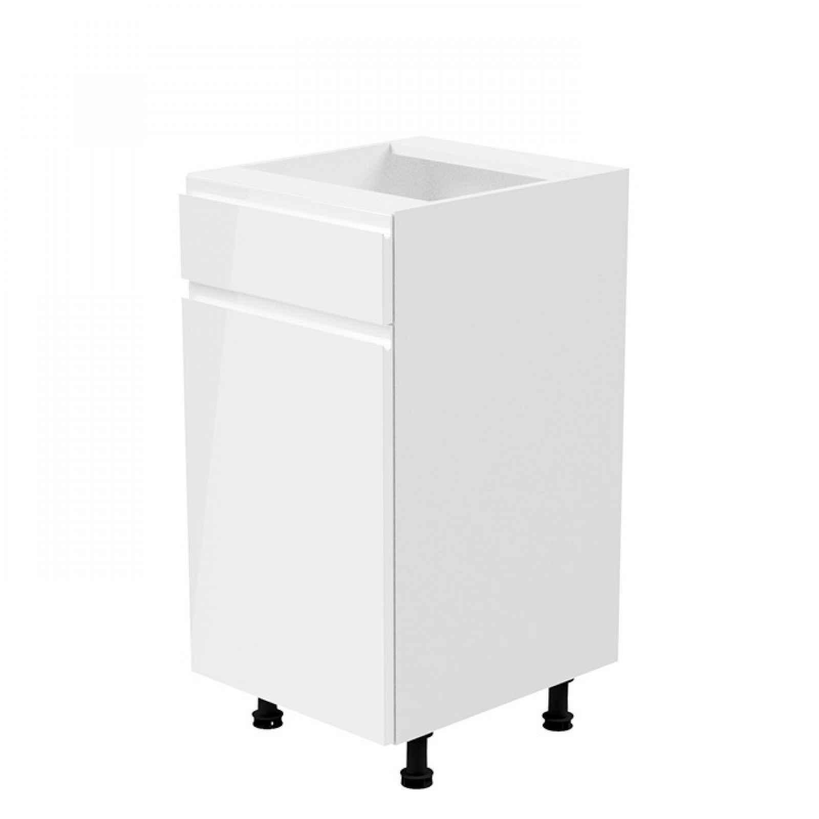 Spodní skříňka AURORA D40S1 - levá Tempo Kondela Bílá