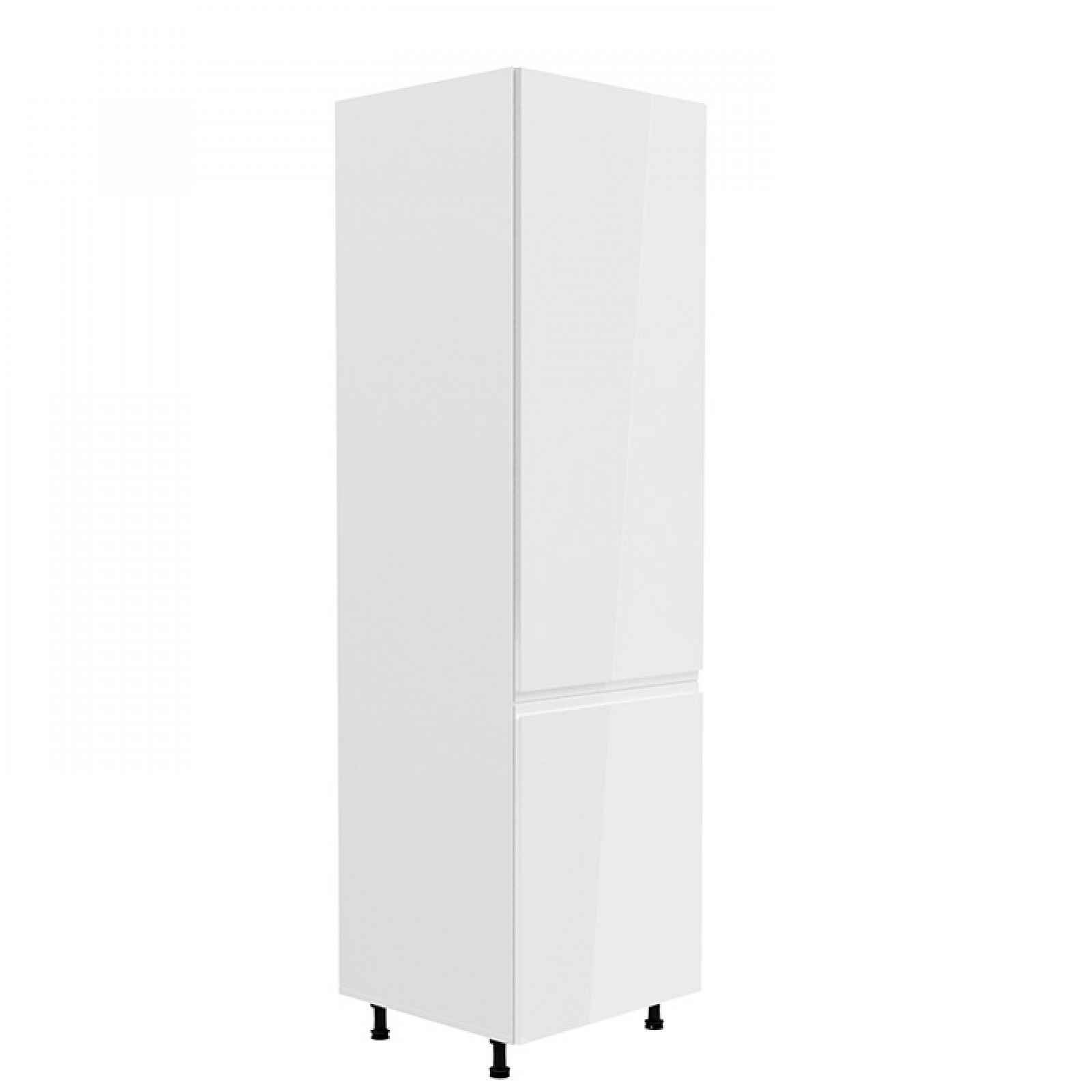Skříňka na lednici AURORA D60ZL - pravá Tempo Kondela Bílá