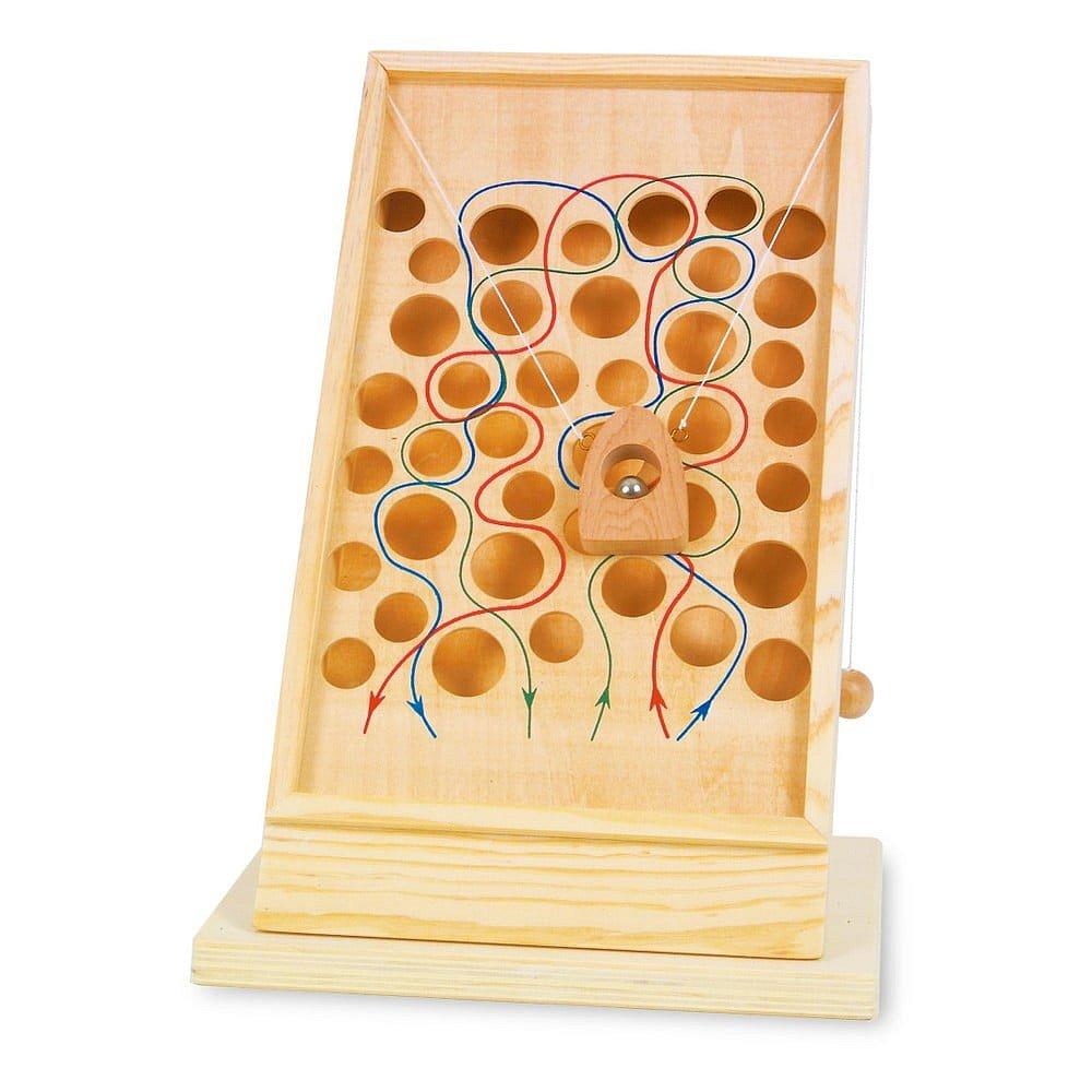 Dřevěná hra pro rozvoj motoriky Legler Stezka Pro Lezce