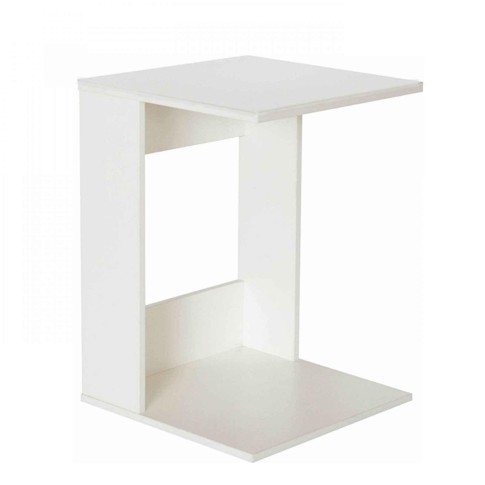 Příruční stolek, bílé provedení, ZENOR 0000235876 Tempo Kondela