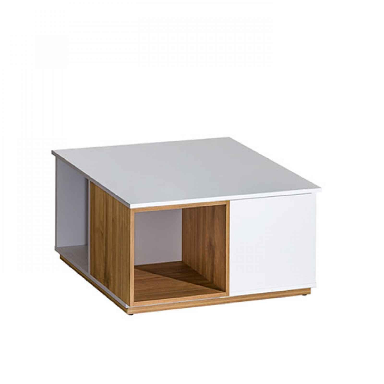 608/5000Konferenční stolek, ořech select / bílá, KNOX E13 0000239025 Tempo Kondela