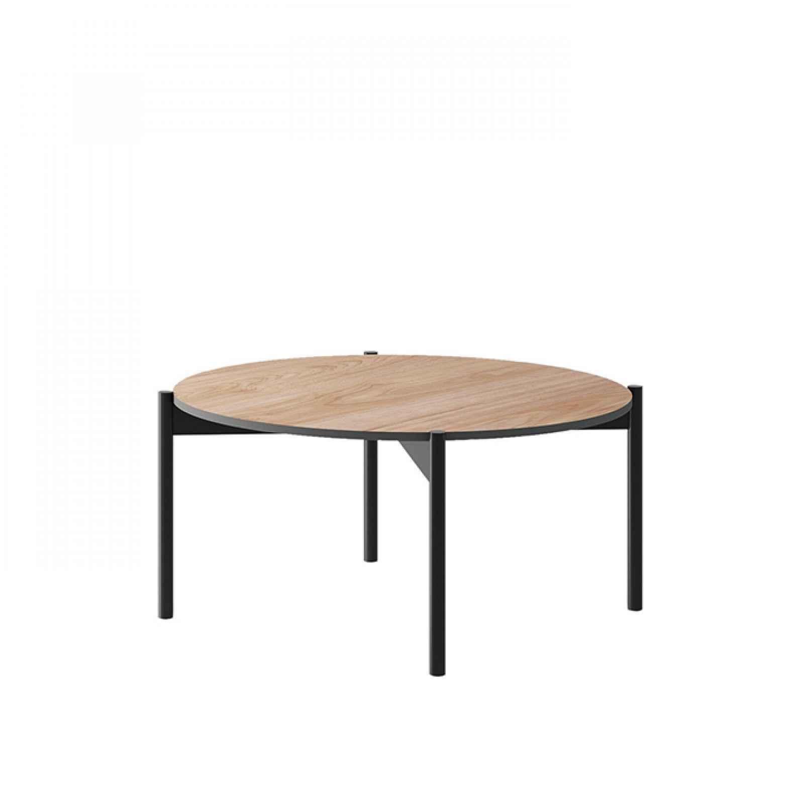 Konferenční stolek, dub jaskson hickory/grafit, BERGEN BL86 0000239099 Tempo Kondela