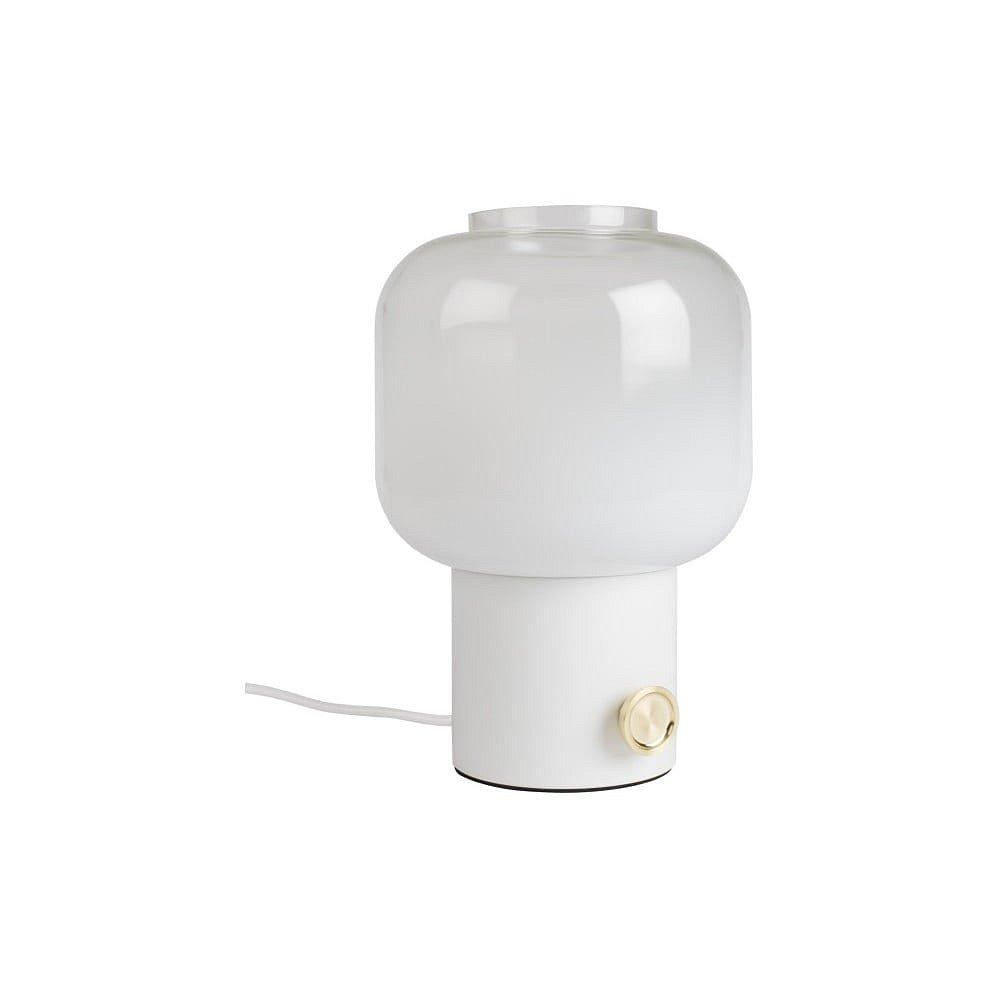 Bílá stolní lampa Zuiver Moody