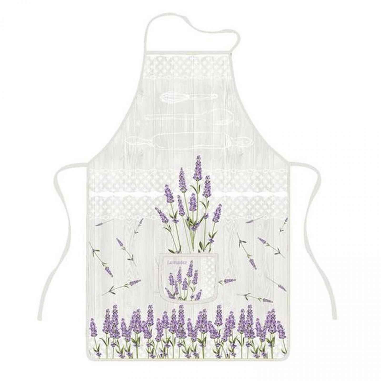 TORO | Zástěra kuchyňská, levandule, polyester