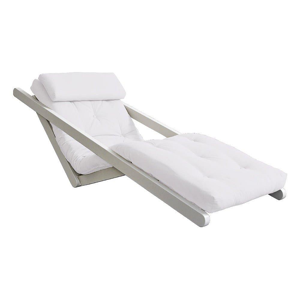 Variabilní lenoška Karup Design Figo White/Creamy