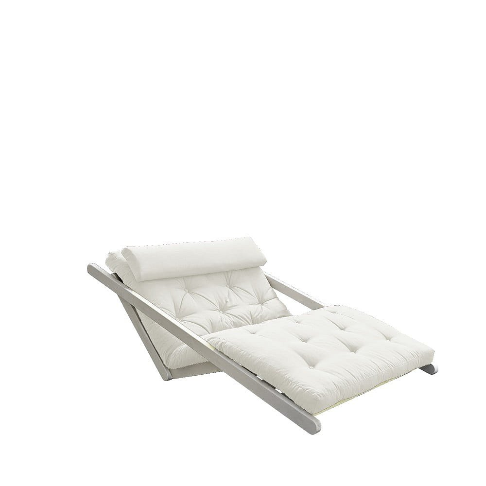 Dvoumístná variabilní lenoška Karup Design Figo White/Creamy