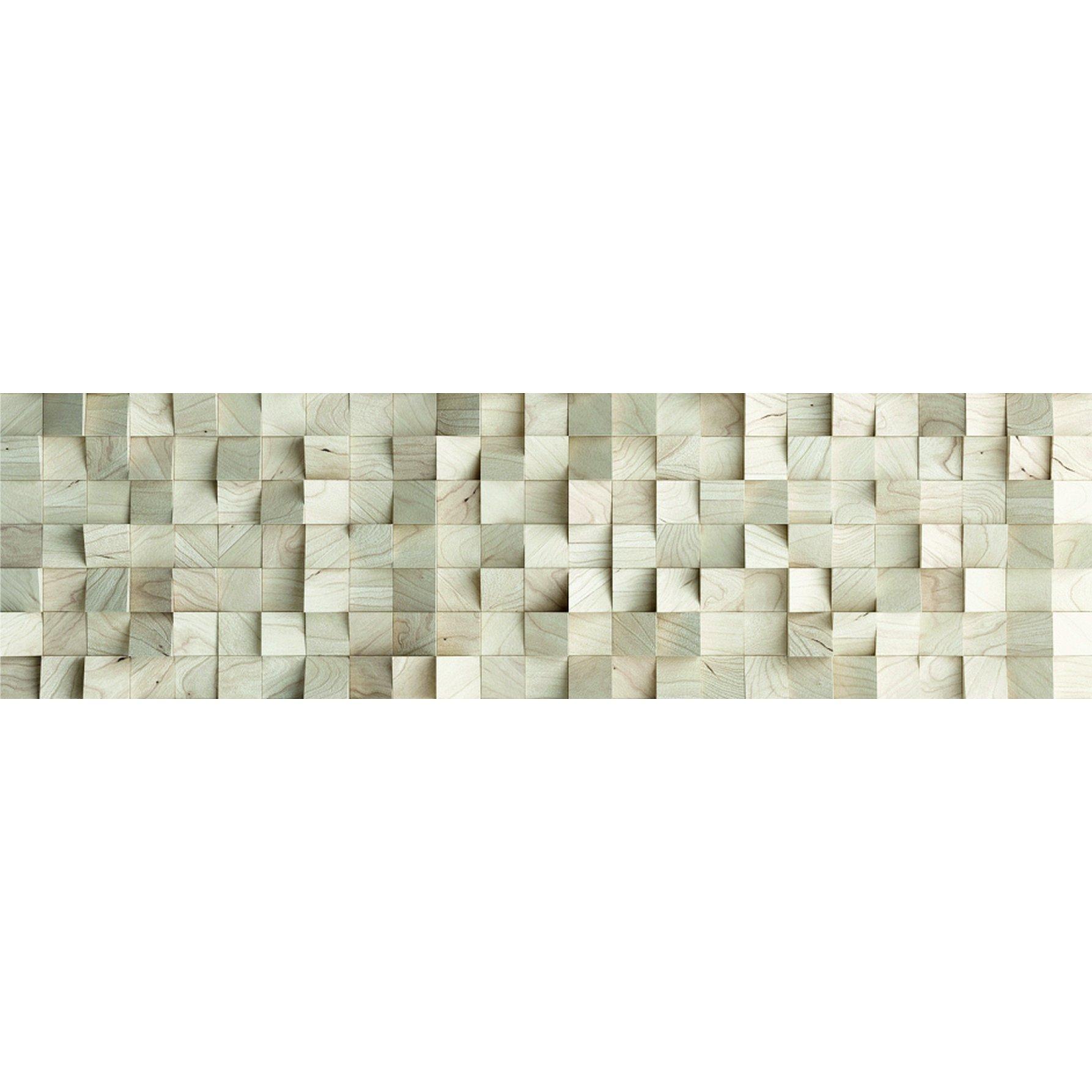 Samolepicí bordura s motivem 3D Abstrakce, 0,14×5 m