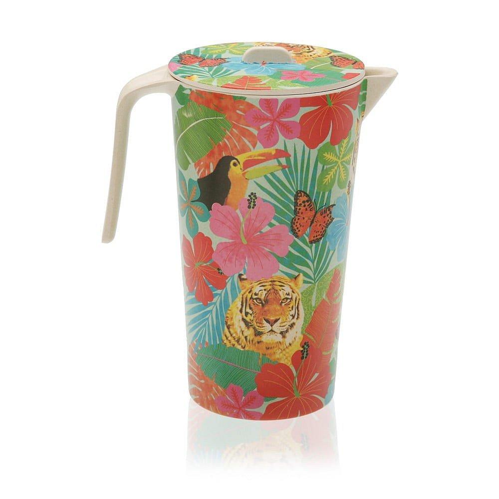 Barevný bambusový džbán Versa Jungle