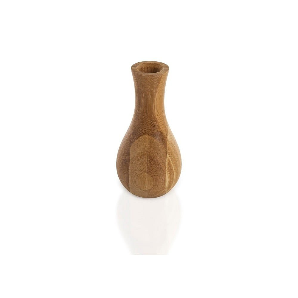 Bambusová váza Bambum Lotus, výška 13 cm