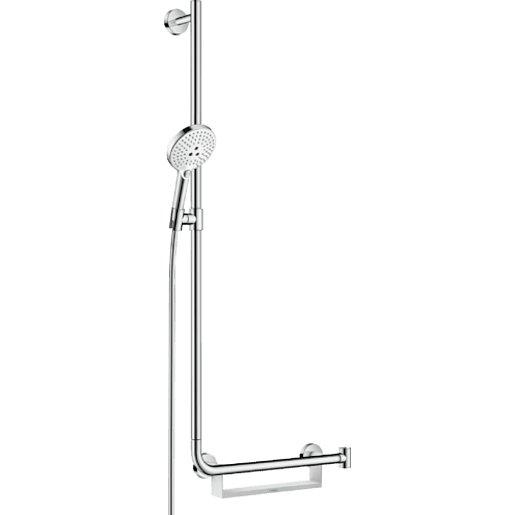 Sprchový set Hansgrohe Raindance Select s mýdlenkou bílá/chrom 26324400