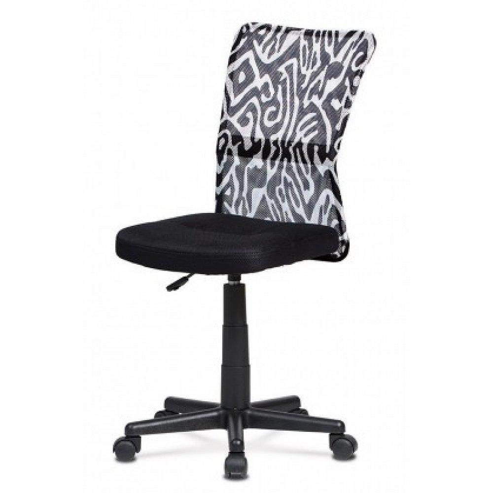 Kancelářská židle Alice černá, bílá