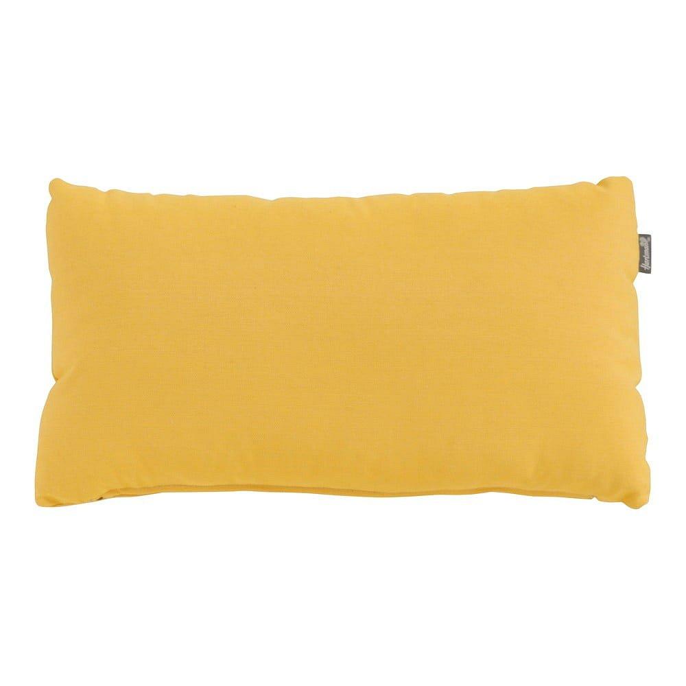 Žlutý zahradní polštář Hartman Samson Loin, 42 x 22 cm