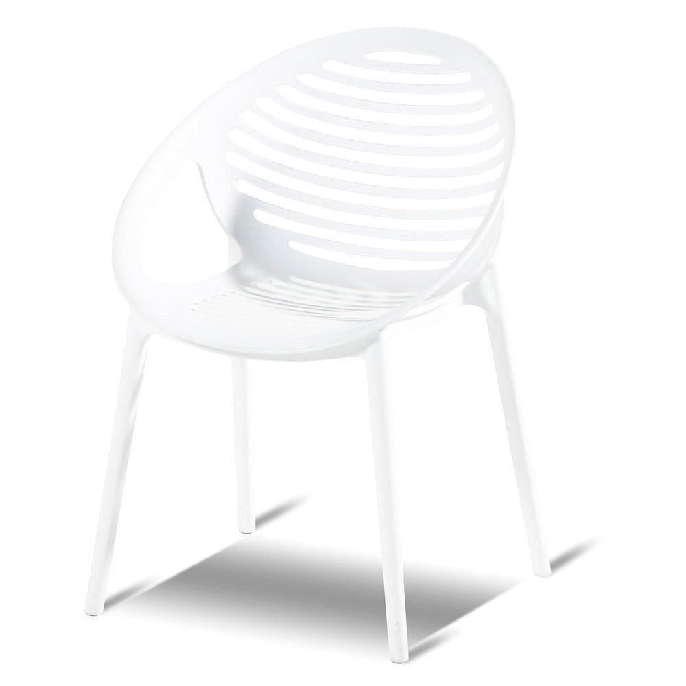 Bílá stohovatelná zahradní židle Hartman Romeo