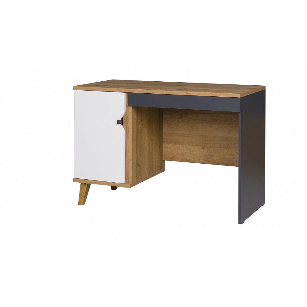 MEMONE psací stůl, dub zlatý
