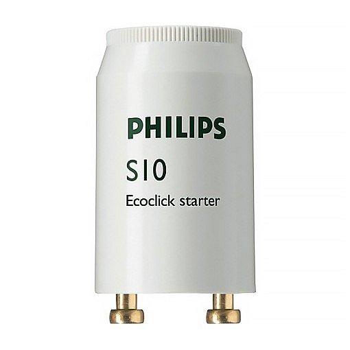 Startér pro zářivky S10 4–65W, Philips