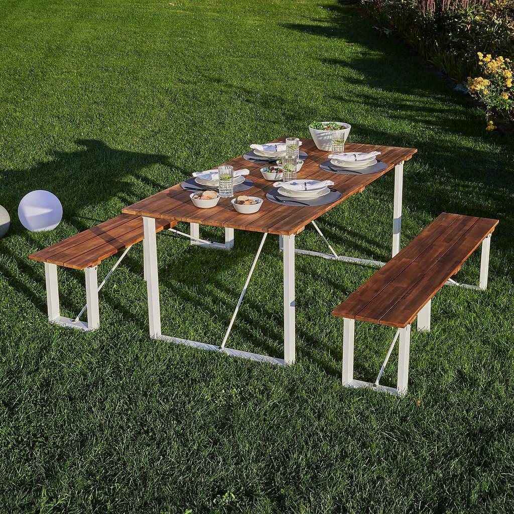 Záhradní Stůl Leonor 180x90 Cm