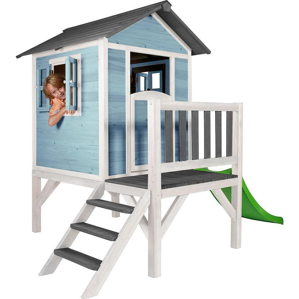 Hrací Domeček Pro Děti Sunny Lodge Xl Modrá