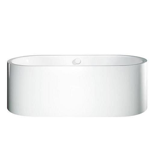 Volně stojící vana Kaldewei Centro Duo Oval 170x75 cm smaltovaná ocel Perl-effekt alpská bílá 200140403001