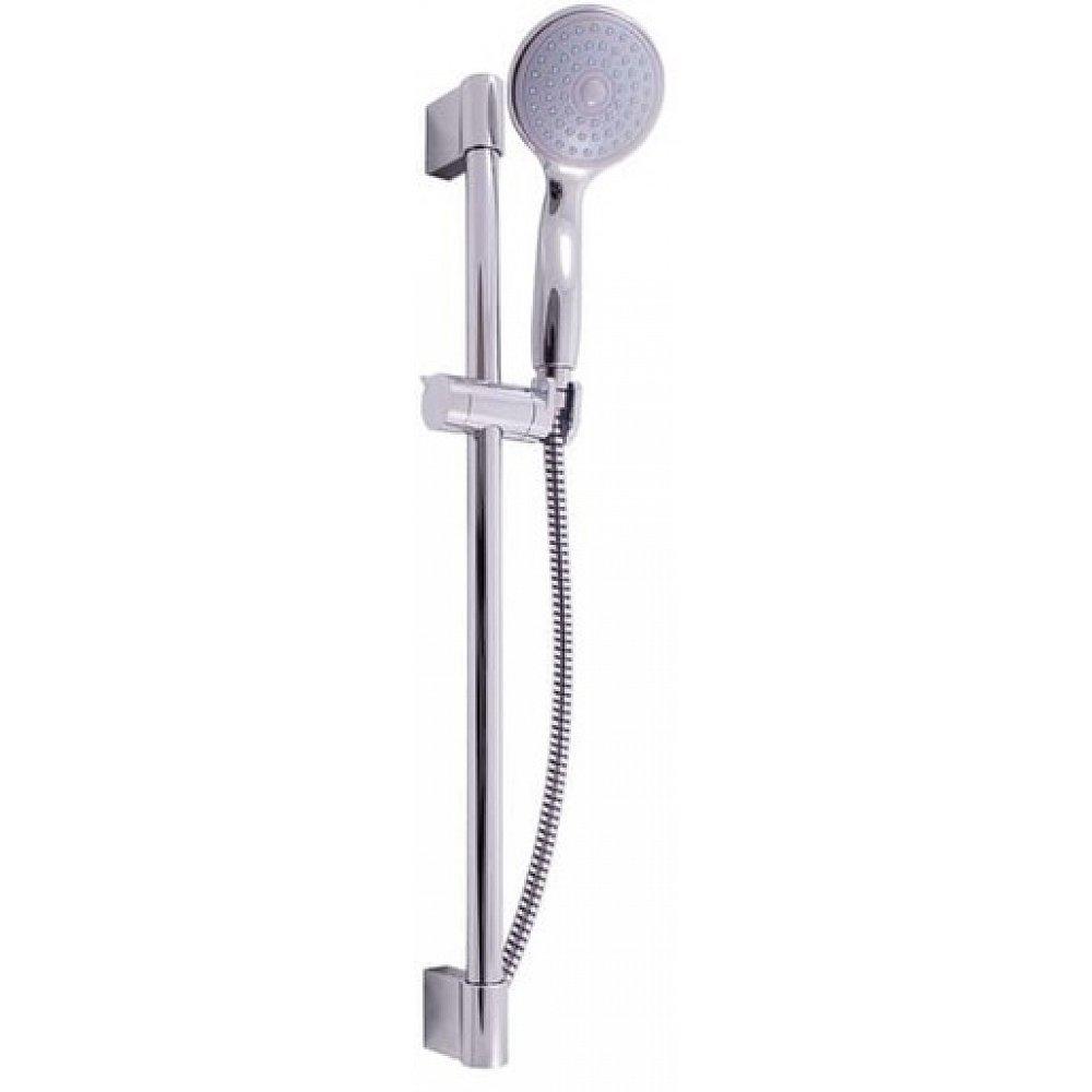 Sprchový set RAV SLEZÁK s držákem sprchy a sprchovou hadicí chrom SK0007