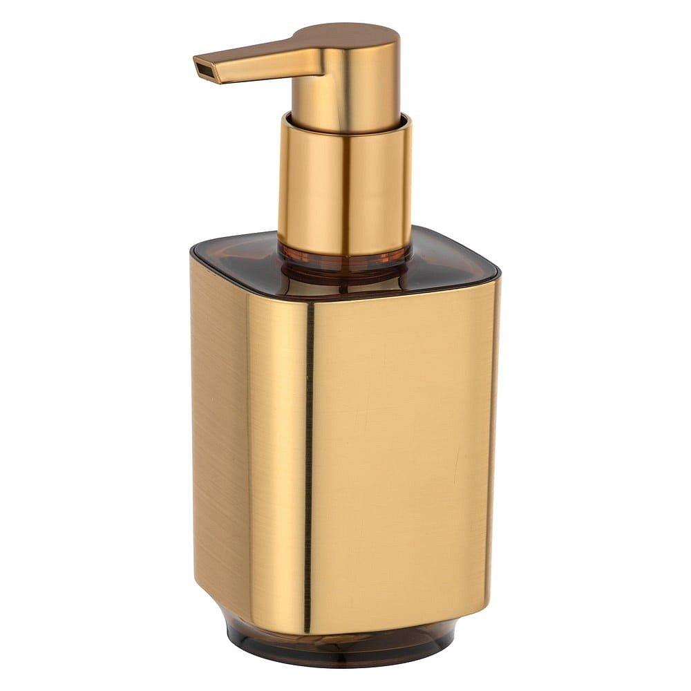 Dávkovač mýdla ve zlaté barvě Wenko Auron