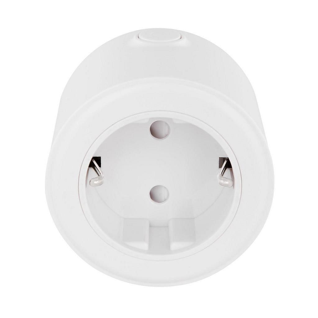 Adapterstecker In Weiß Mit Sprachsteuerung