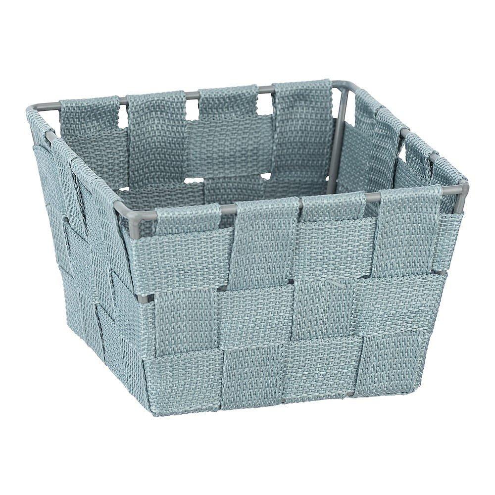 Modrý úložný košík Wenko,14 x 14cm