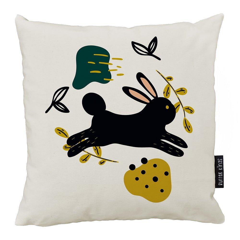 Polštář Butter Kings z bavlny Jumping Rabbit, 50 x 50 cm