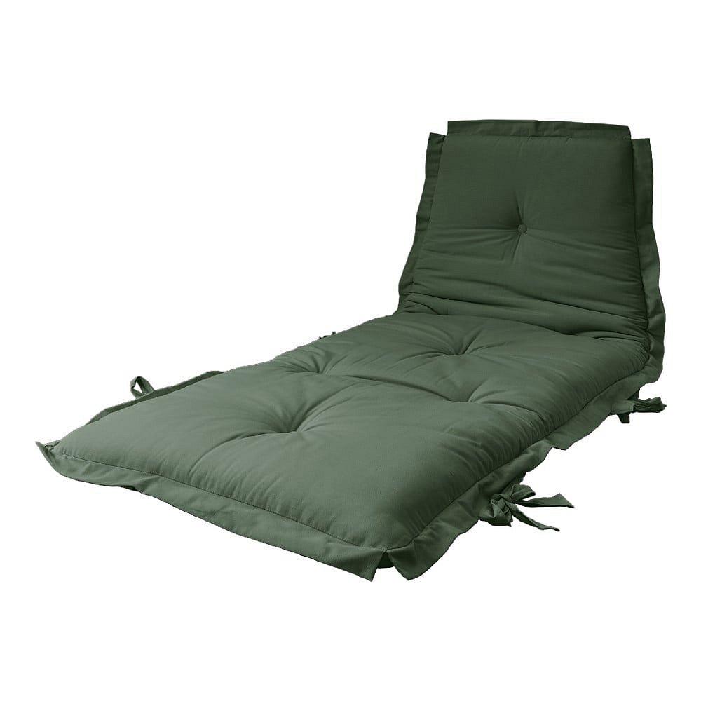 Variabilní futon Karup Design Sit & Sleep Olive Green