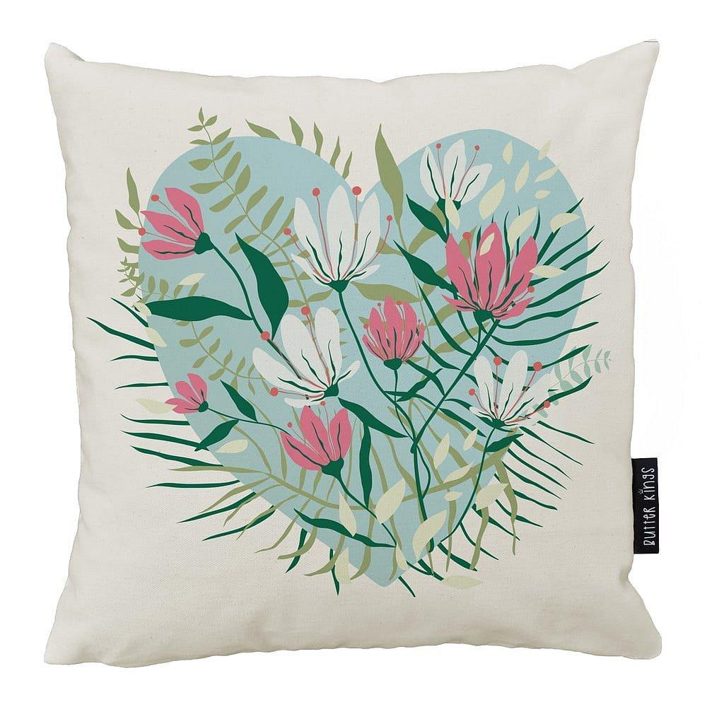 Polštář Butter Kings z bavlny Be My Valentine, 50 x 50 cm
