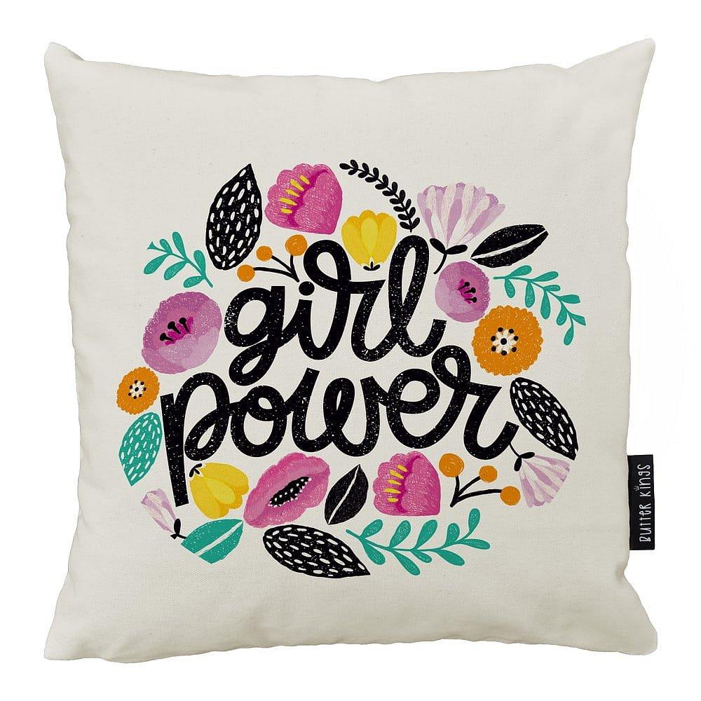 Polštář Butter Kings z bavlny Girl Power, 50 x 50 cm