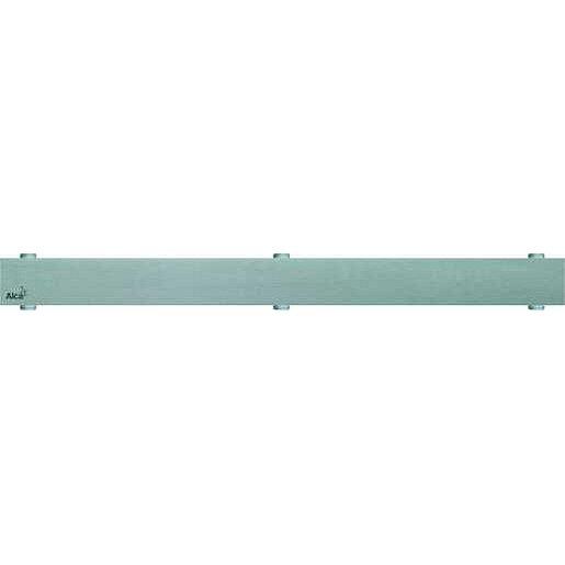Rošt Alcaplast 85 cm kartáčovaná nerez mat plný POSH-850MN