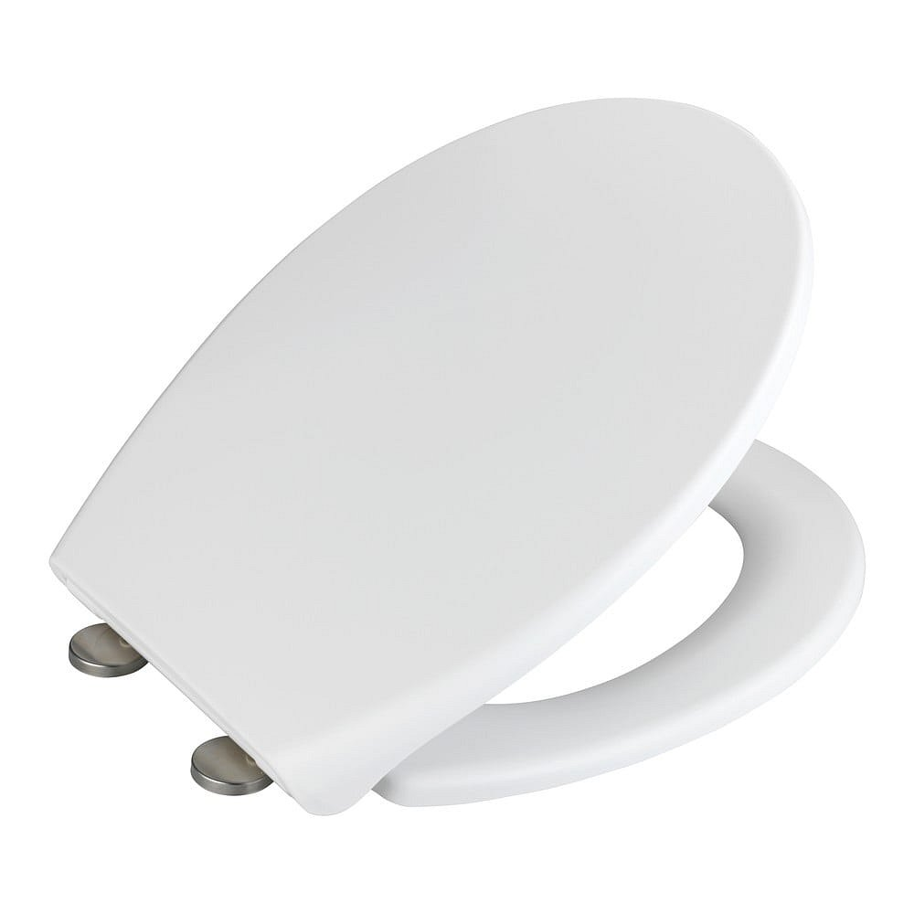 Bílé WC sedátko Wenko Ikaria