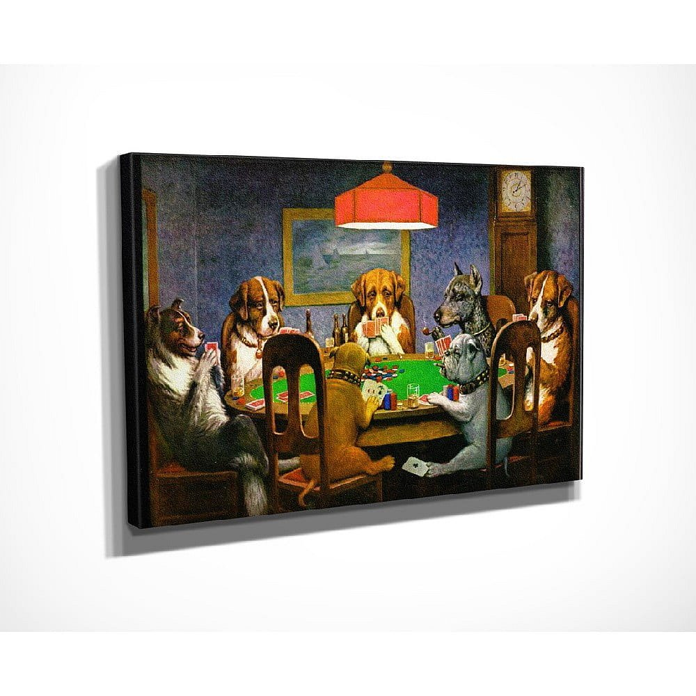 Nástěnná reprodukce na plátně Cassius Marcellus Coolidge, 40 x 30 cm